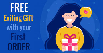 Free Exiting Gift with your First Order