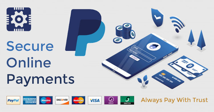 Secure Payments using PayPal Express Checkout
