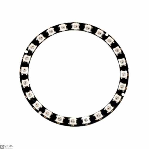 24bit ws2812 5050 ring rgb led module cjmcu