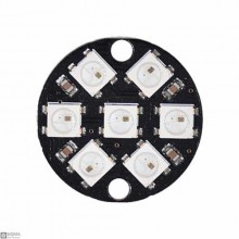 7Bit WS2812 Ring RGB LED Module