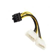Dual 4P to 8P PCI-E POWER CORD