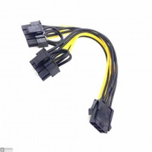 Graphics card power cable cord  6pin to double 8pin