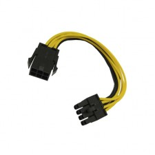 Graphics card 6P to 8P power line power conversion extension 6Pin to 8Pin 6-pin to8 pin power cord
