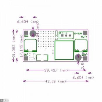 2 PCS LM2596S Step Down Regulator Module [DC-DC] [3A]