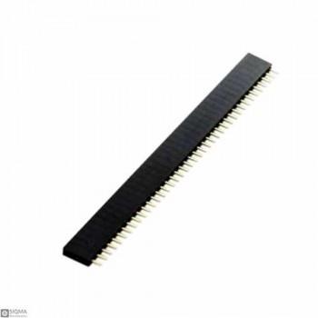 100 PCS 1x40 Female 2.54mm Pin Header
