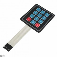 5 PCS 3x4 Flat Matrix Keypad Module
