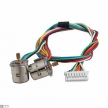 Miniature 8MM Stepper Motor Set