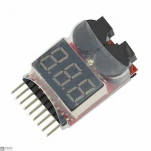 Lithium Battery Voltage Tester 1S-8S