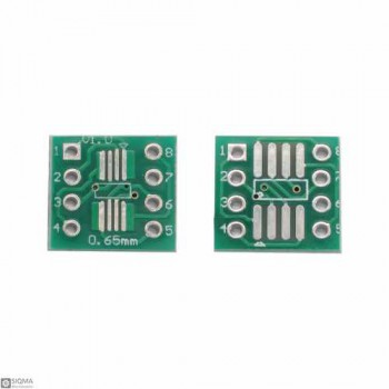 100 PCS SOP8 SSOP8 TSSOP8 to DIP8 Adapter Board