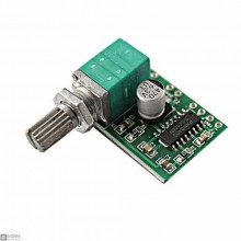 5 PCS PAM8403 Dual Channel Stereo Digital Audio Amplifier Module With Volume Control [2x3W]