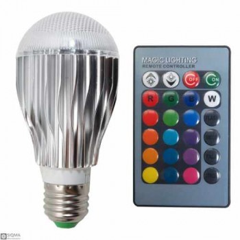 E27 RGB LED Lamp with Remote Control [9W] [85V-265V]