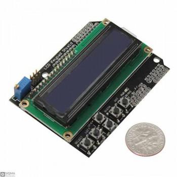 1602 Character LCD Arduino Shield