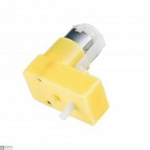 L Shape Gear DC Motor 1:120 ( Slow )