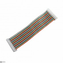 5 PCS Raspberry Pi 40 Pin Rainbow Cable [20cm]