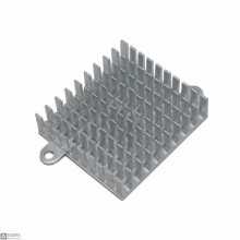 2 PCS Aluminum Heat Sink [40x43x11mm]