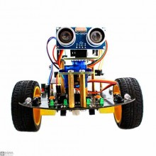 Arduino UNO Tracking Obstacle Robot Kit