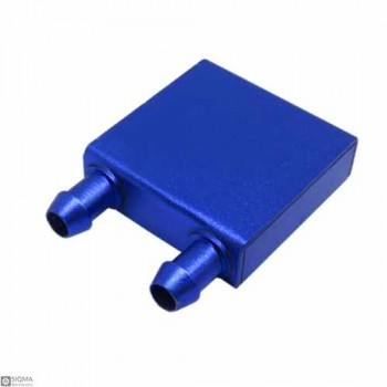 Aluminum Water Cooling Block [7mm-8mm Pipe] [40x40x12mm]