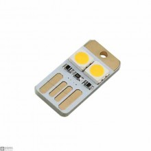 10 PCS Two-sided Mini USB LED Module [0.5W] [5V] [Cool White , Warm White]