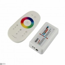 Wireless RGB Multi Color LED Controller [2.4GHz] [12V-24V]