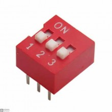100 PCS Dip Switch [3 Position] [6 Pin]