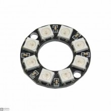 WS2812 Circular Full Color RGB LED Module [8 Bit]