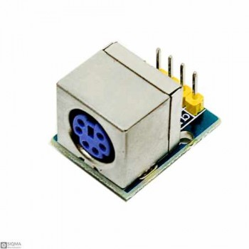 5 PCS PS2 Mouse and Keyboard Socket Module