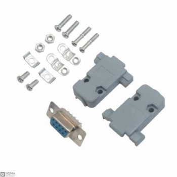 10 PCS DB9 Connector with Shell [Female , Male]