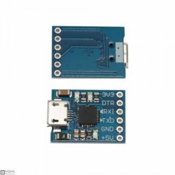 10 PCS CP2102 Micro USB to TTL Converter Module [6 Pin]