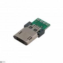 20 PCS Micro USB Male Breakout Board
