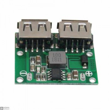 DC-DC Dual USB 5V 3A Step Down Regulator Module