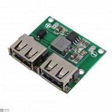 DC-DC Dual USB 5V 3A Step Down Regulator Module