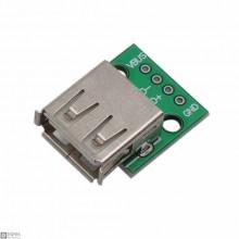 20 PCS USB 2.0 Female Breakout Board