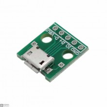 50 PCS Micro USB Female Breakout Board