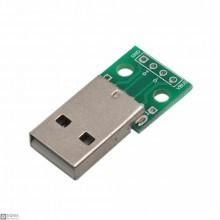 20 PCS USB Male Breakout Board