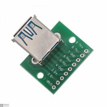 5 PCS USB 3.0 Female Breakout Board