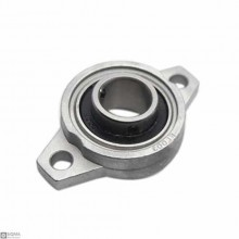 5 PCS 8mm Flange Pillow Block Bearing