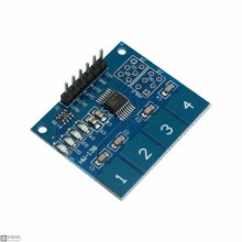 15 PCS TTP224 4-Bit Capacitive Touch Module