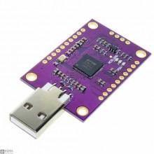 FT232H Multifunction USB to JTAG UART FIFO SPI I2C Converter Module