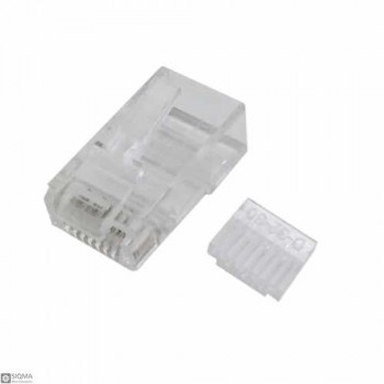 50 PCS Cat6 RJ45 Male Connector