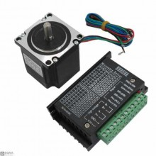 57BYGH56 Nema23 Single Shaft Stepper Motor [9V-42V] [4A]