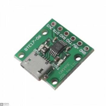 15 PCS CH340E Micro USB to TTL Converter Module