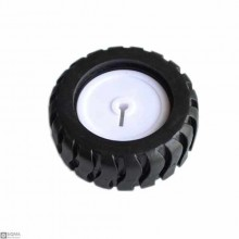10 PCS 43mm Rubber Wheel