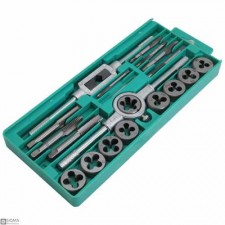 20 Pieces Tap and Die Set