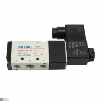 Air TAC 4V210-08 Pneumatic Solenoid Fluid Control Valve