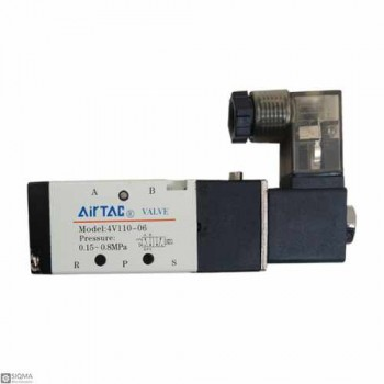 Air TAC 4V110-06 Pneumatic Solenoid Fluid Control Valve