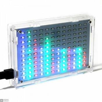 LED Music Spectrum Analyzer [ 11x12 ]