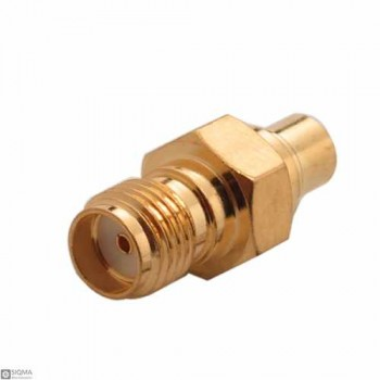 10 PCS SMA Female To MCX Female Adapter