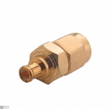 10 PCS SMA Male To MCX Male Adapter