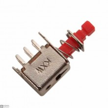 100 PCS PS-22F02 Straight Key Switch