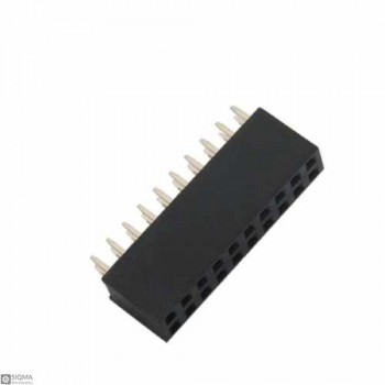 100 PCS 2X10 Straight Female 2.54mm Pin Header